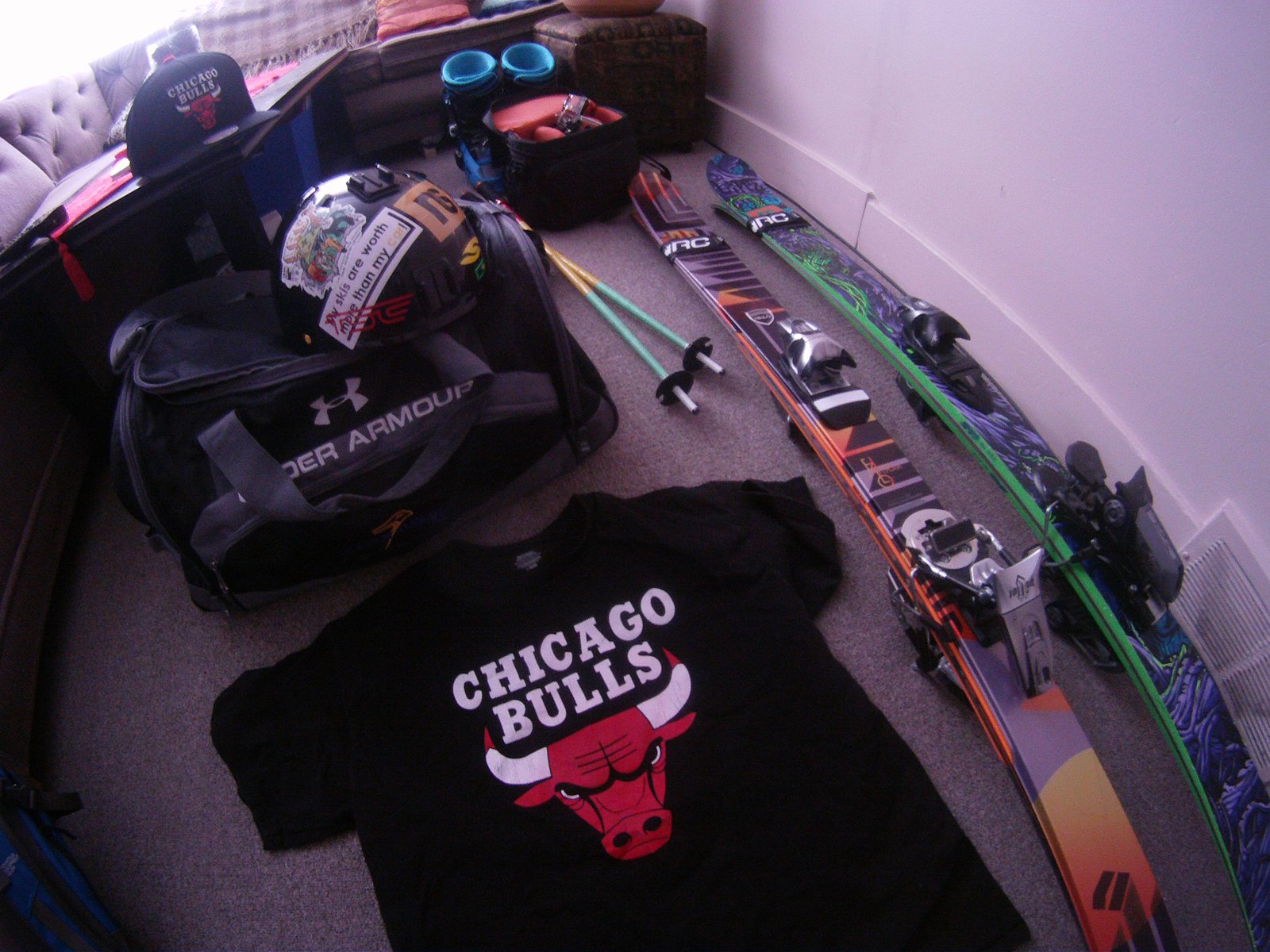 Ski east, from loo to devil's head then chicago for new year party