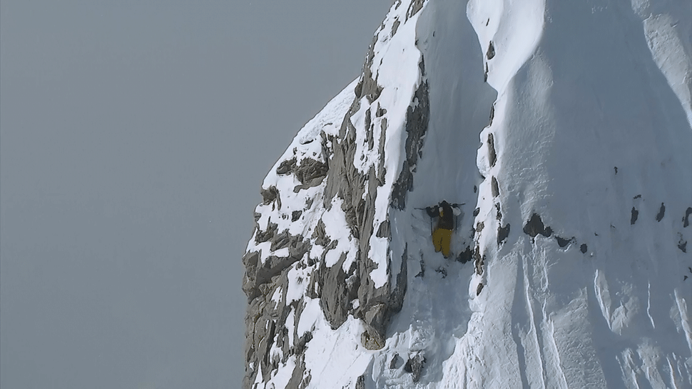 Candide Thovex  to the top