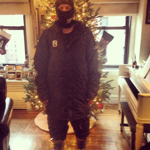 My outerwear from santa and jesus.