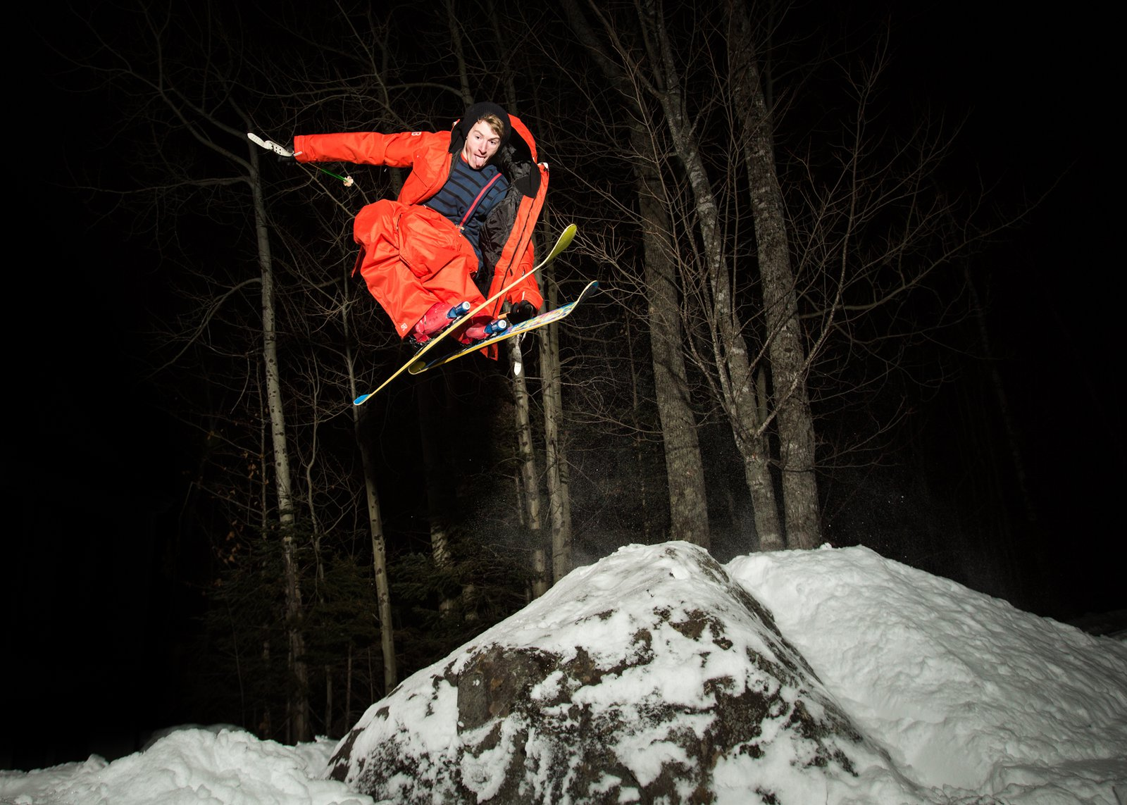 I ski?