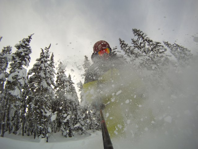 some pow in the lens