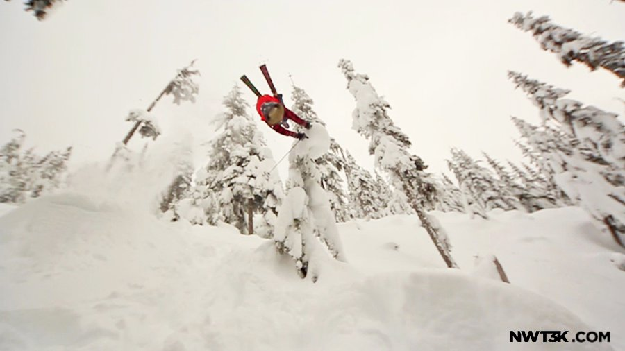 Hand drag in Alpental BC w/ Garret Porter   NWT3K Outerwear