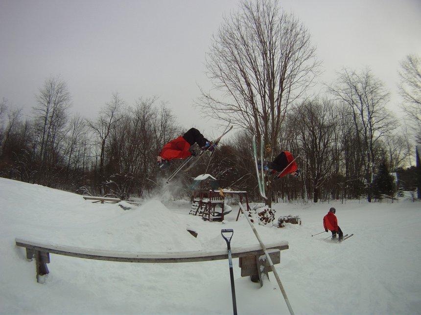 Backyard Backflip