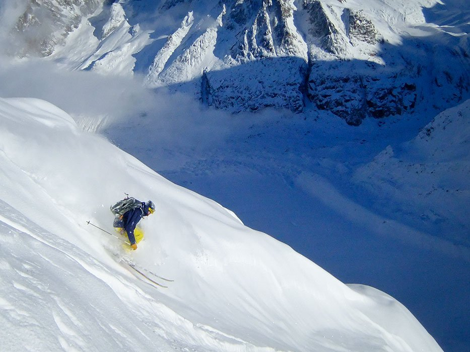 Chamonix: Getting deep