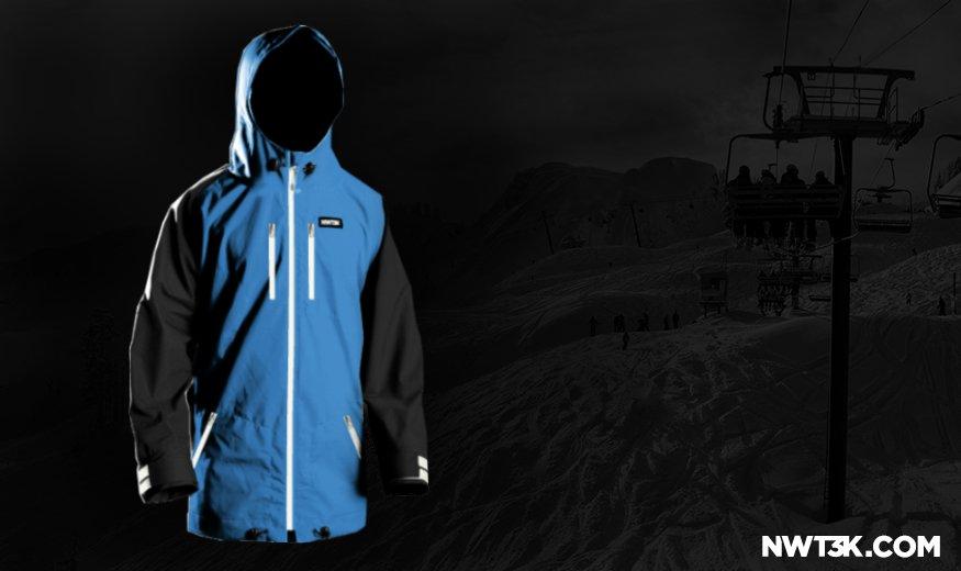 NWT3K Custom Waterproof Jacket