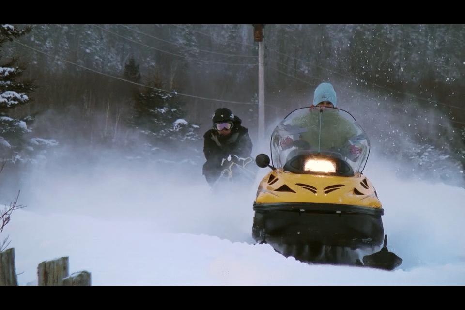 ski-doo skeetching