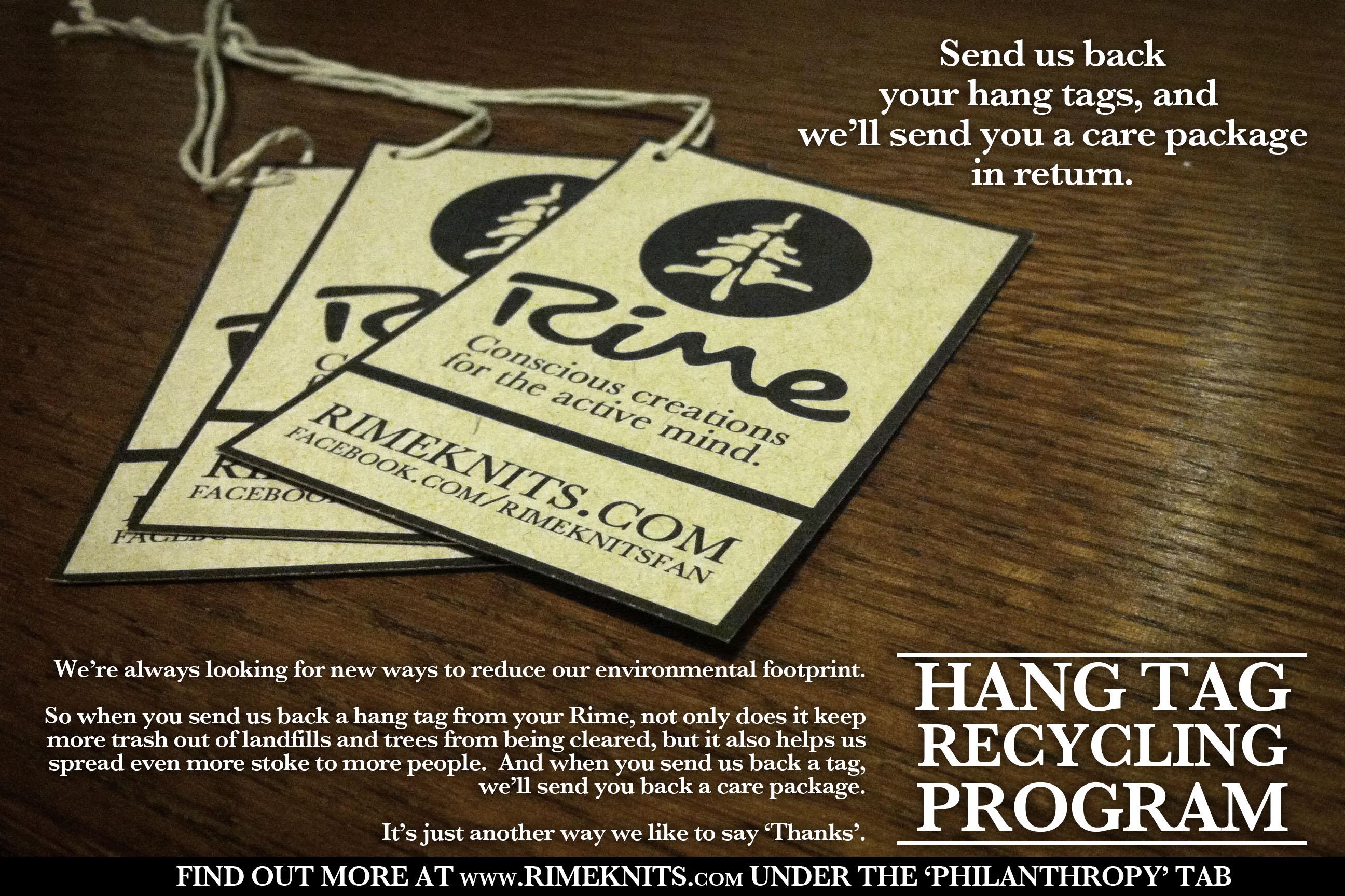 Hang Tag Recycling