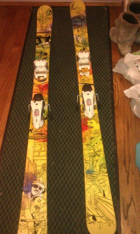 line tc skis