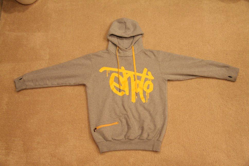 Ehoto Signature grey hoodie