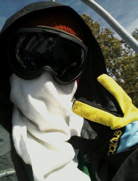 Ghood Day to ski!