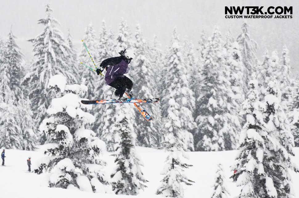 Tail 5 at snoqualmie | NWT3K Custom Waterproof Jackets