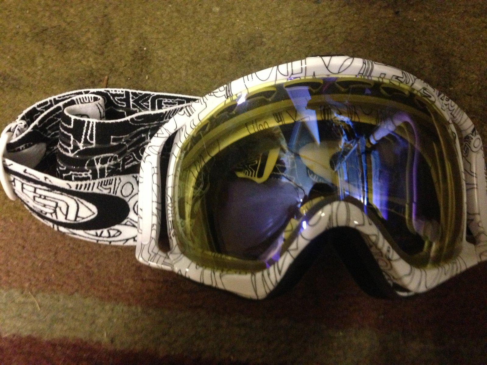 WTT Oakley Crowbar Goggles