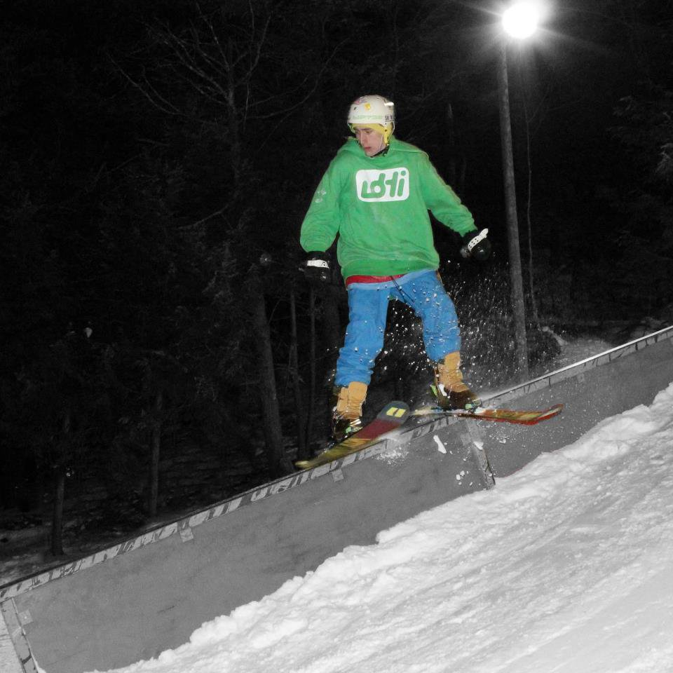 Hitting down rail