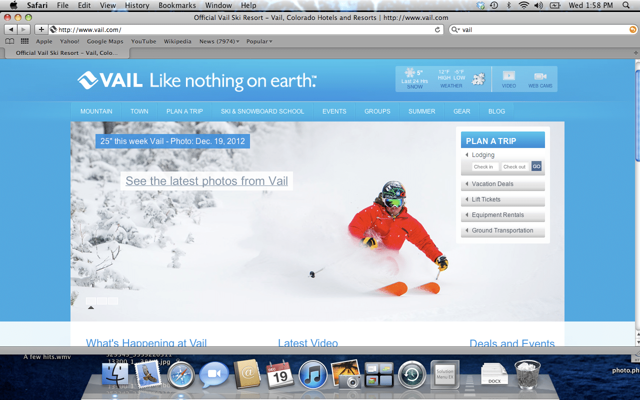 Vail's Homepage