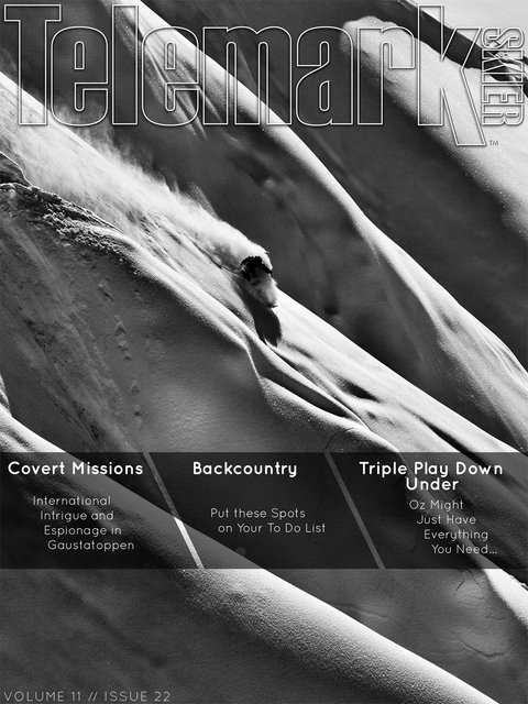 Telemark Skier - January Issue Cover