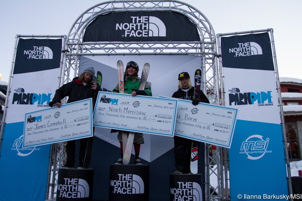 The North Face Park and Pipe Open Slopestyle Finals