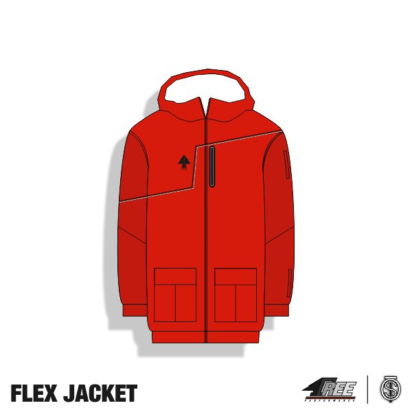 Flex Jacket Red-Darkred front.jpg