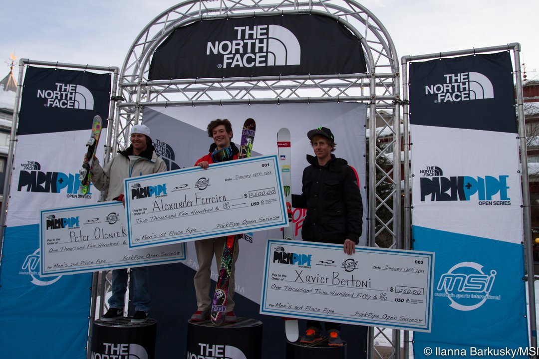 The North Face Park and Pipe Open Halfpipe Finals
