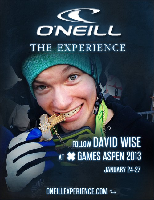 O'Neill Experience X Games Aspen 2013