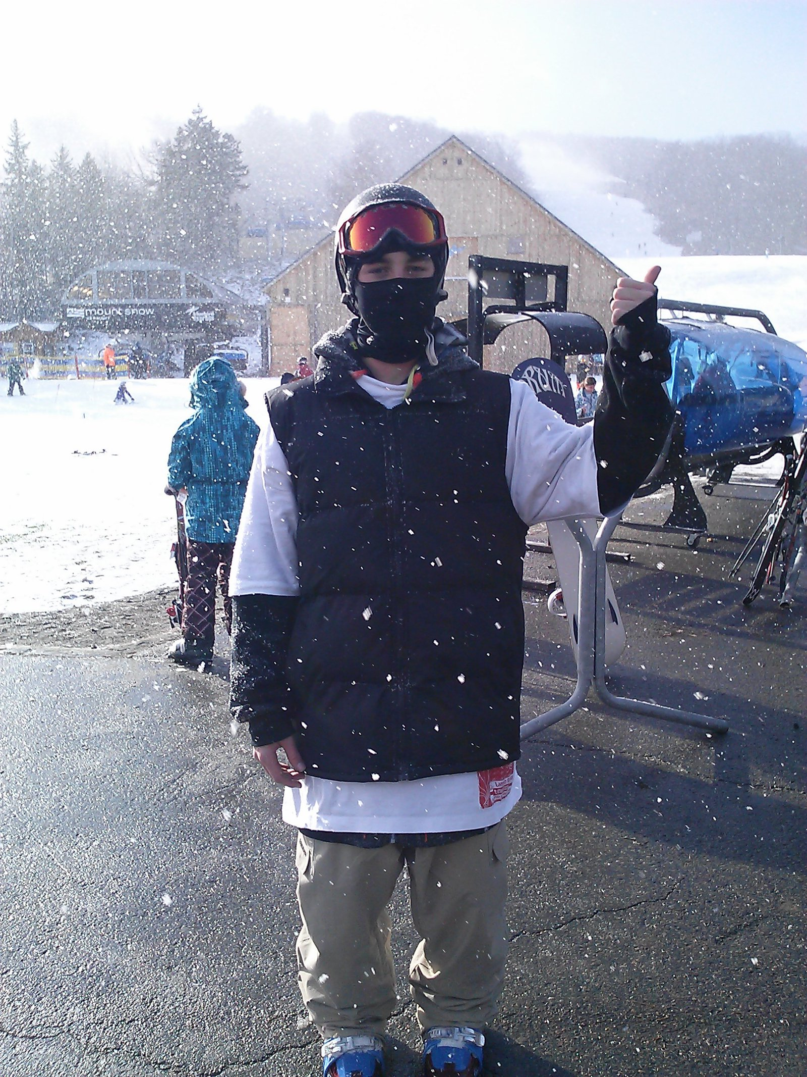 At mt. snow