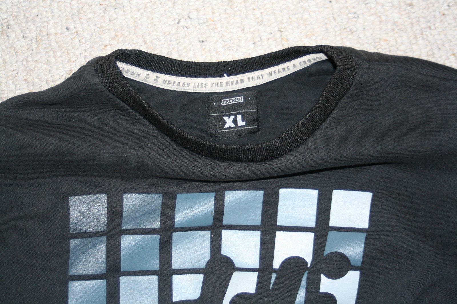 black loci crew XL 2