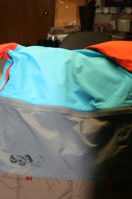 Back of SAGA King Cobra Jacket