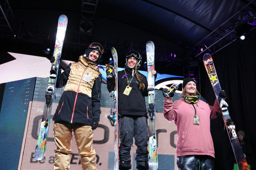 X Games Women's Ski Superpipe Finals