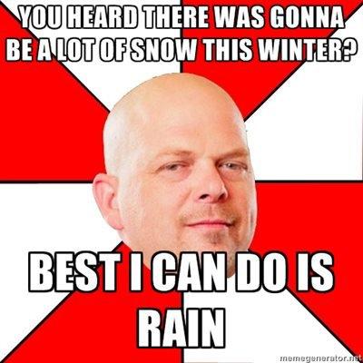Rain Not Snow