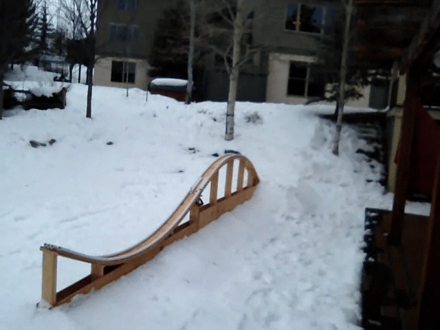 Backyard Serpent Rail