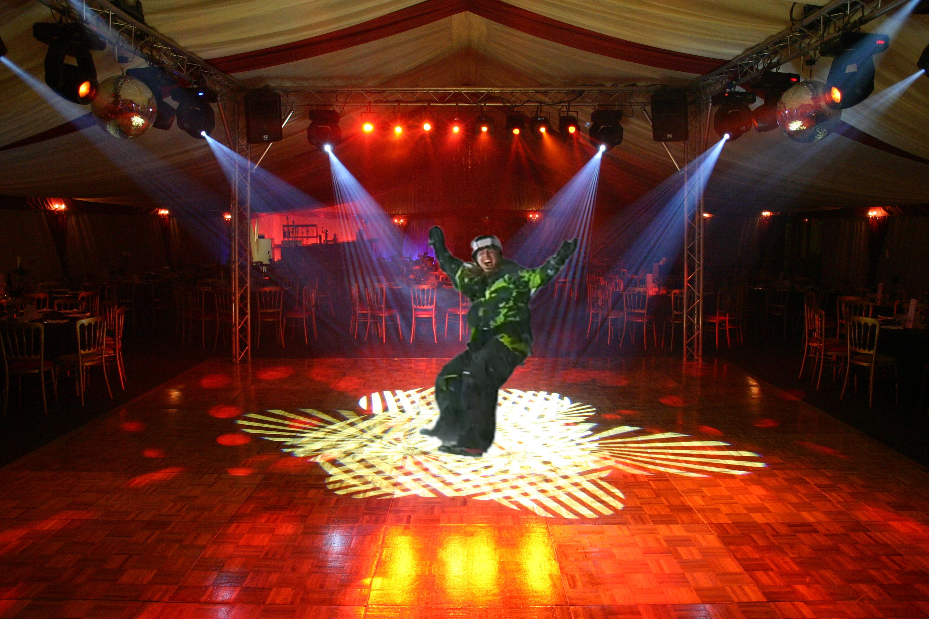 nightclub dance floor lighting