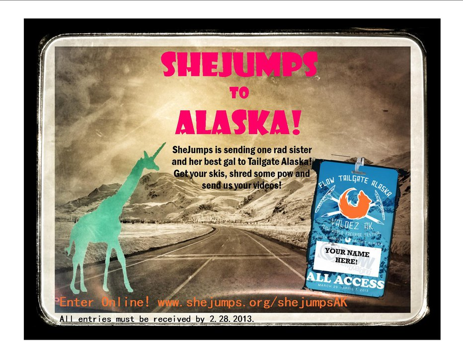 Win A Trip To Tailgate Alaska From SheJumps!