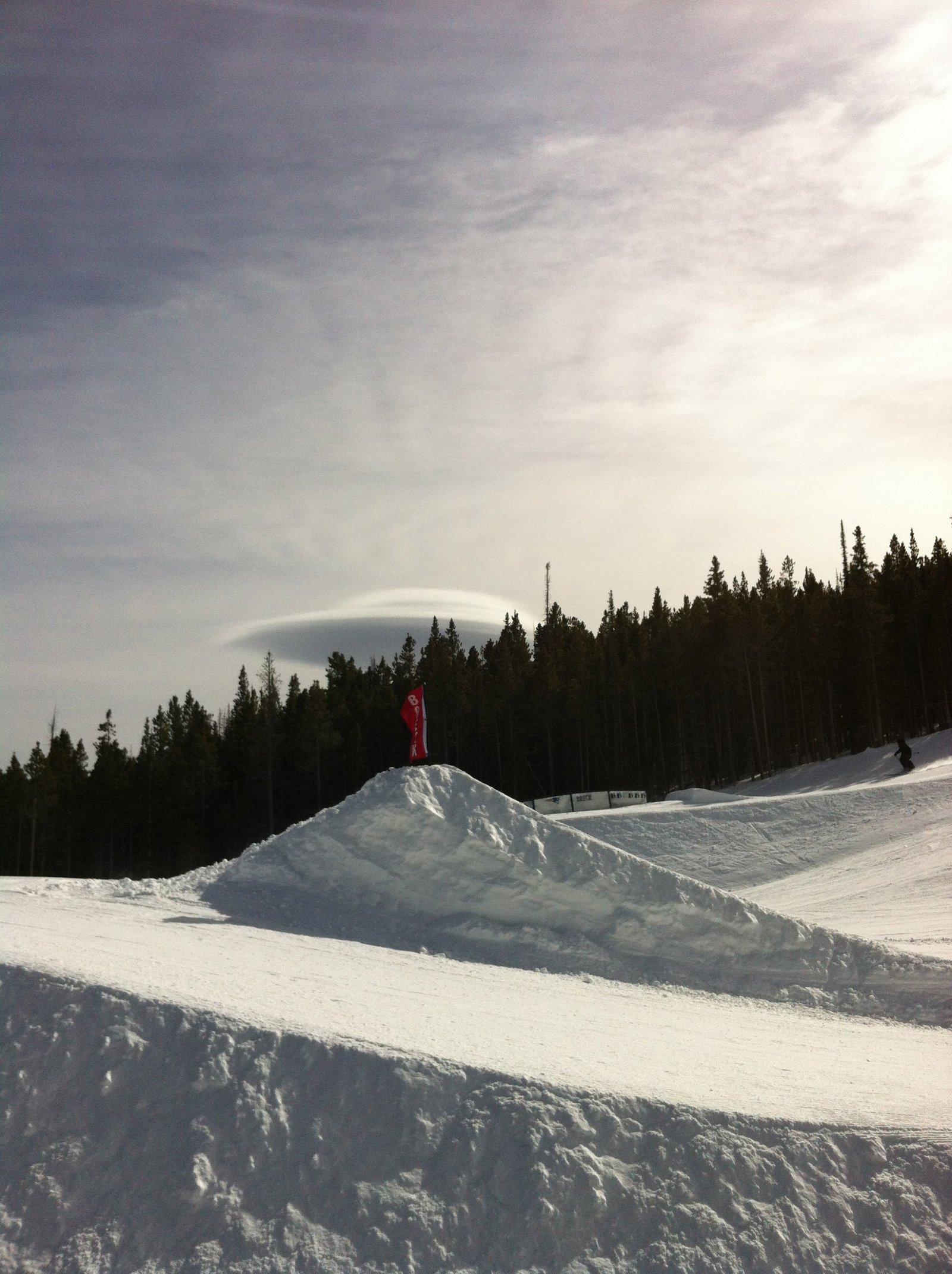 UFO at Breck