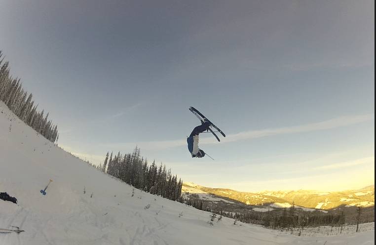 Backflip at Red