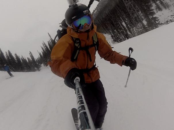 Ski out