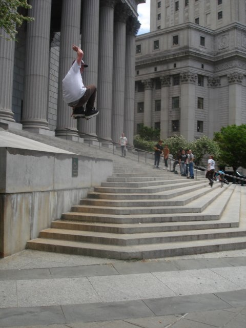 540 Safety at NYC Court House Spot