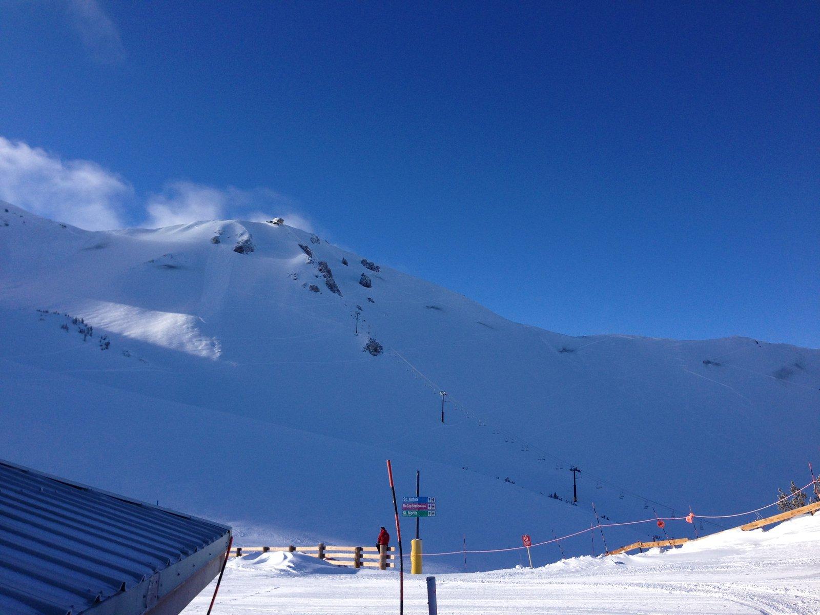 top of the sierra
