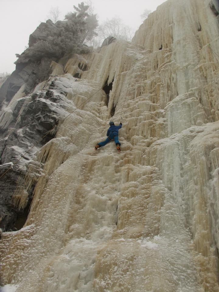 east coast powder climbing!