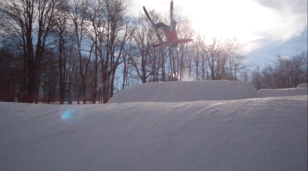 Laid Out Backflip