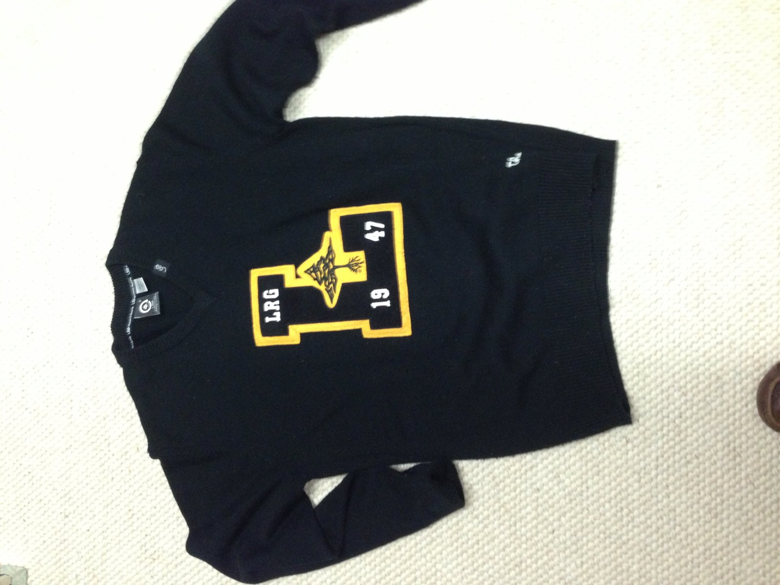 lrg vneck sweater