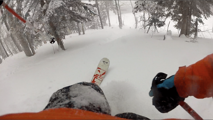 East coast pow!