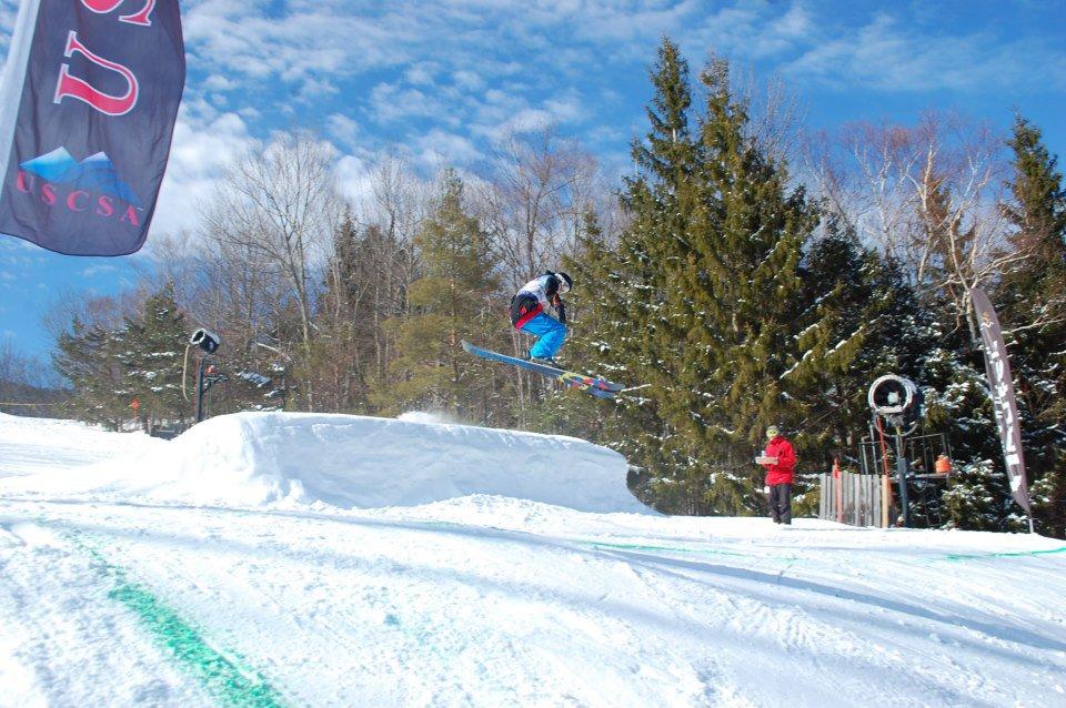 uscsa slopestyle at hunter mtn