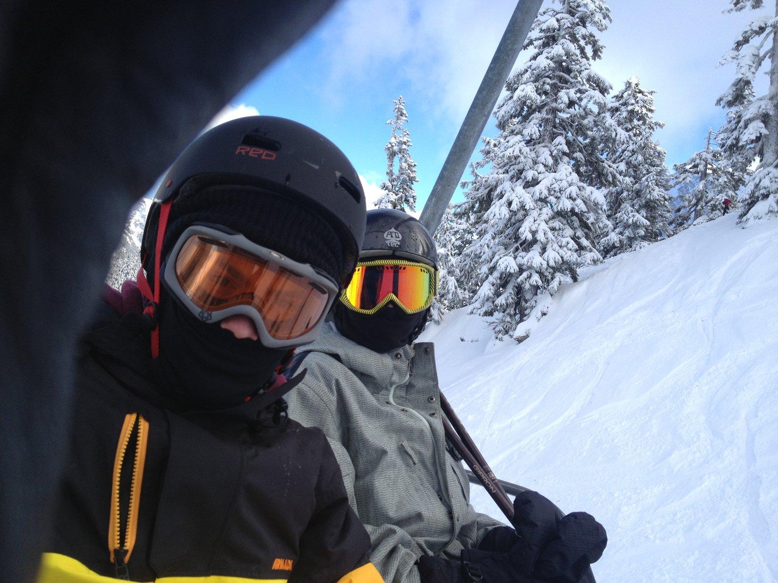 Skiing Baker
