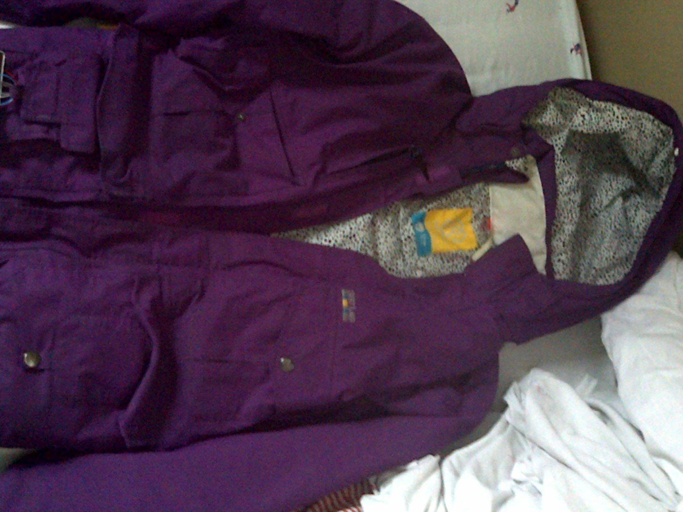 Special Blend Royal Purple Gunner Jacket