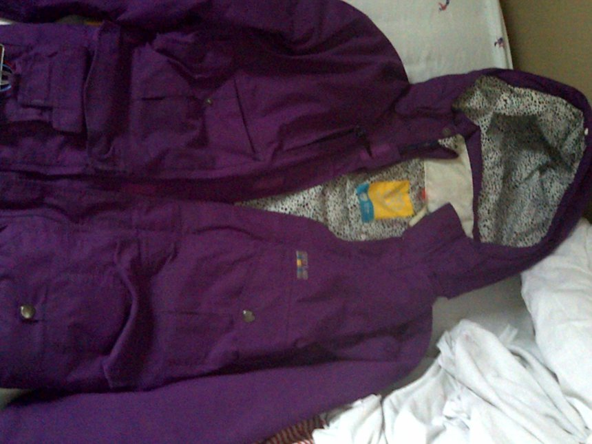 Special Blend Royal Purple Gunner Jacket