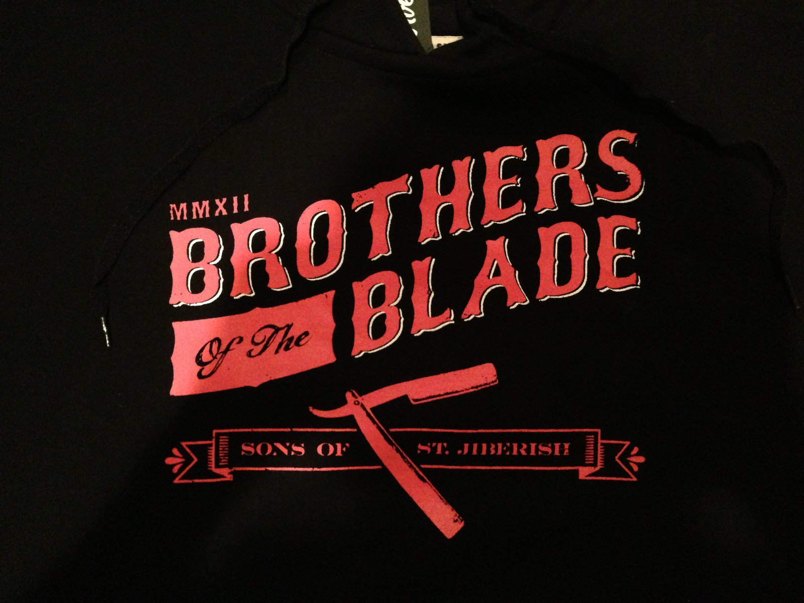 Jiberish Brothers of the Blade Detail