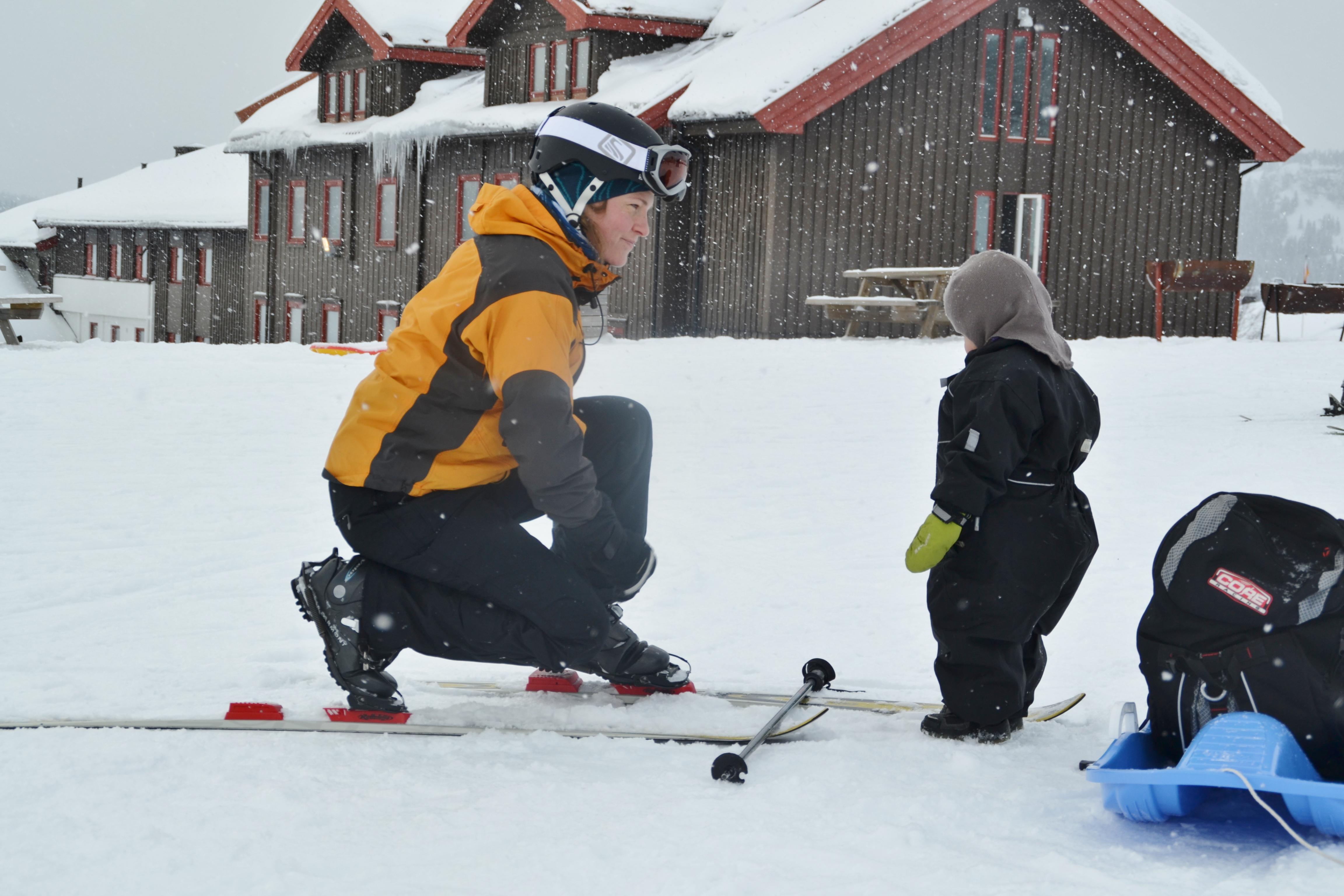 skiier mom