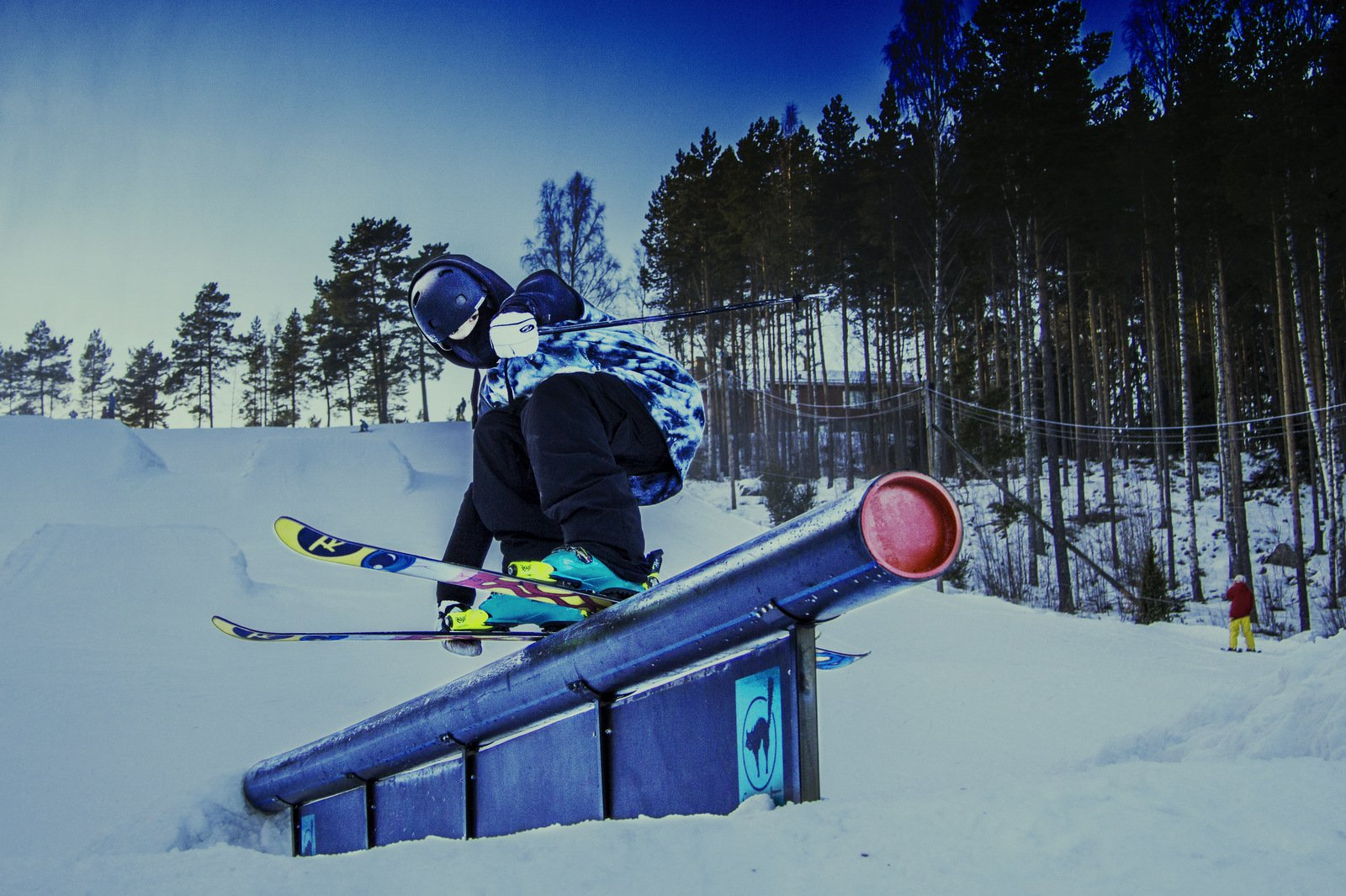 Hitting that rail