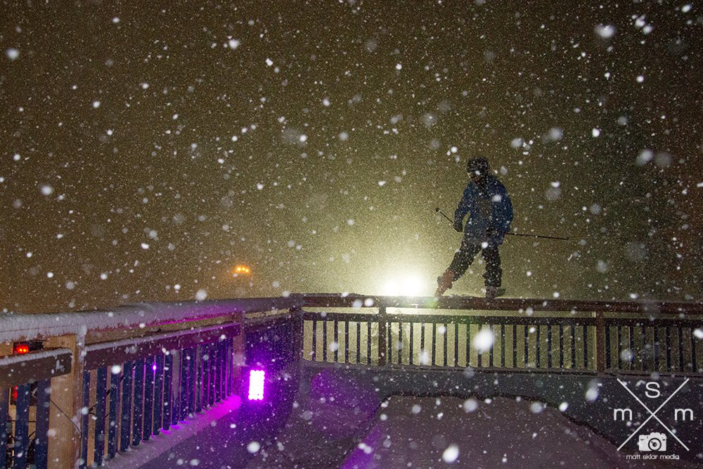 Snowy night  @ 3rd Shift