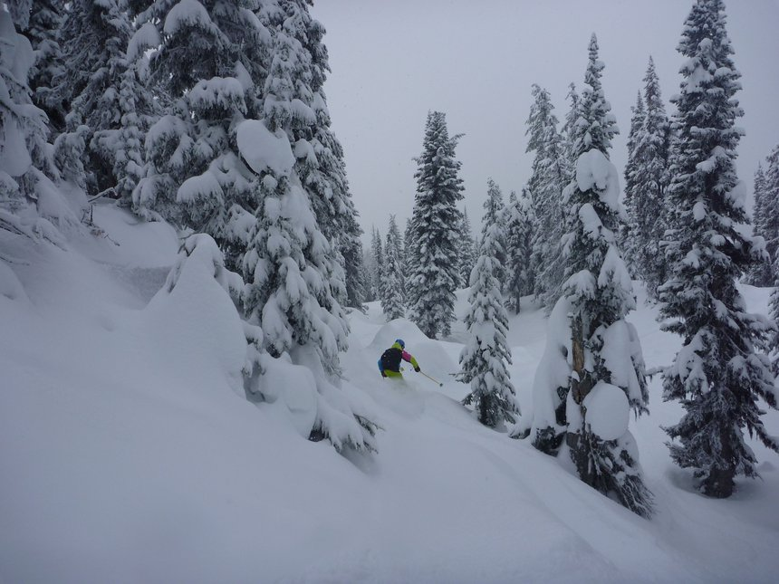 Shredin dat pow