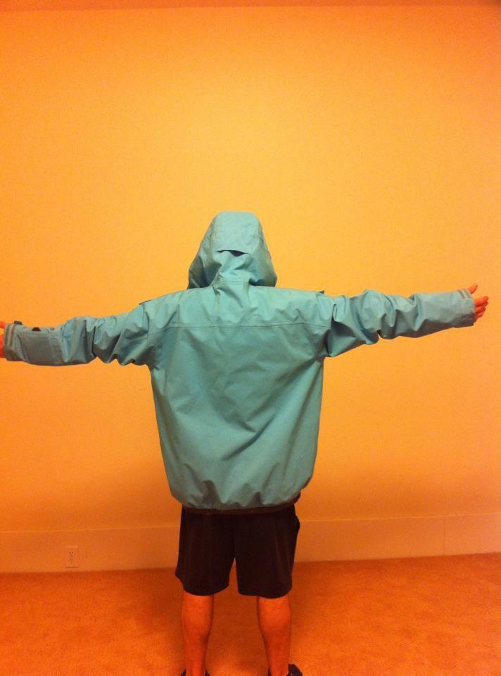 Oakley Evo light blue jacket